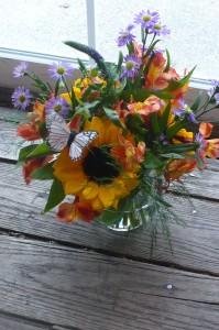 Butterfly Meadow  Summer Sunflowers  $35.00