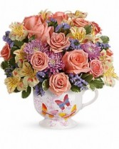 Butterfly Sunrise Bouquet