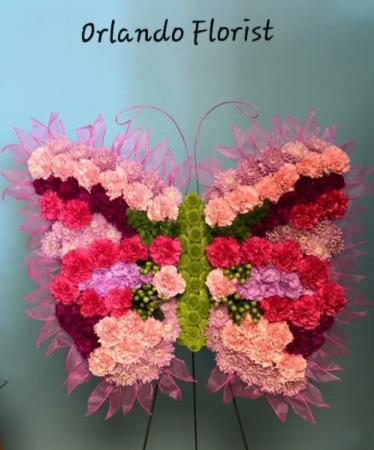 Butterfly Tribute Custom Sympathy Tribute