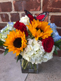 BUTTERFLY WISHES Vase Arrangement