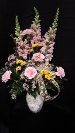 Buzzin for you vase arrangement
