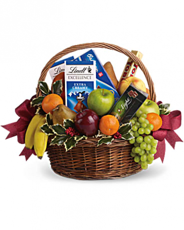 Sweets And treats Gourmet Basket