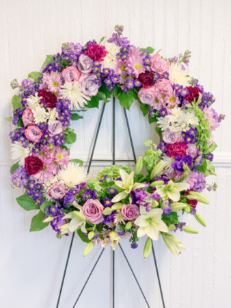 By and By  Sympathy Wreath
