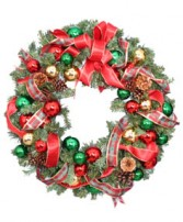 FESTIVE HOLIDAY WREATH  Christmas Gift