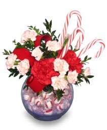 PEPPERMINT POSIES  Candy Bouquet