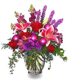 HOLIDAY RHAPSODY of Flowers