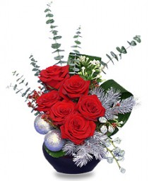 ALL SPRUCED UP Holiday Bouquet