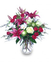 CHRISTMAS BLISS Flower Arrangement
