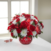 Season's Greetings Ornament Bouquet- 16-C5
