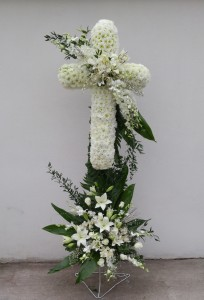 C10 White elegance Cross