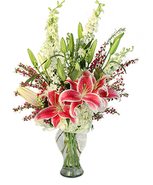 Deeply Dedicated Vase Arrangement  in Mabank, TX | MABANK FLORAL & GIFTS