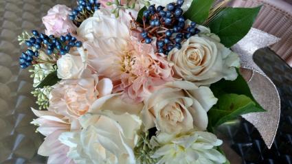 Cafe au lait Bride bouquet
