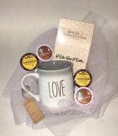 Caffeine Queen Mother's Day Basket