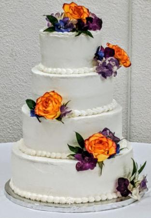 Cake topper Flowers Fresh Flowers