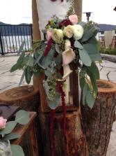 Cala Lilies, Roses &  Ranunculus