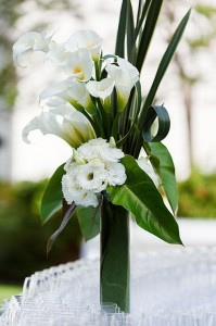Cala Lily Arrangement  Vase Arrangement - Centrepeice in Oakville, ON | ANN'S FLOWER BOUTIQUE-Wedding & Event Florist