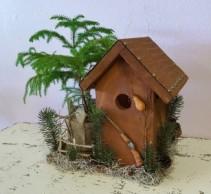 Caleb's Custom Birdhouse Planter - Hunting Birdhouse Planter