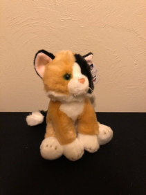 Calico Kitty Stuffed Plush