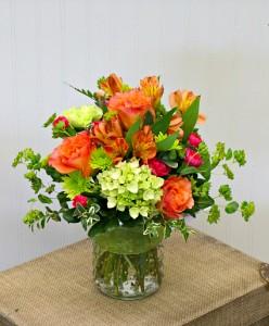 California Sunrise Vase Arrangement