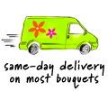 CALL FOR A SAME DAY DELIVERY USUALLY NOT A PROBLEM