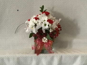 Call me sweetheart. Vase arrangement