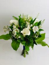 Calla Bouquet Hand held Bouquet