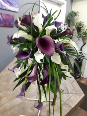 Calla Lily Package Weddding in Edmonton, AB | PETALS ON THE TRAIL
