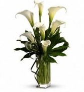 BS 8-Calla Lily Arrangement