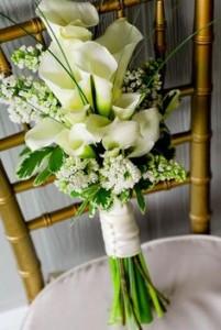 W*  Calla Lily Bouquet Bouquets