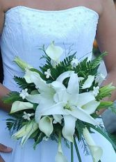 Calla Lily Bouquet Posy Style