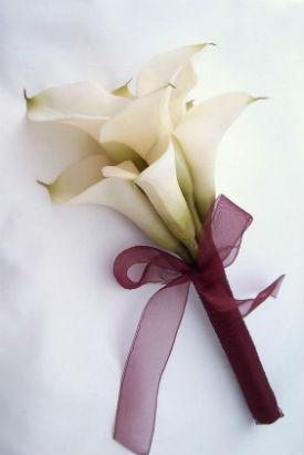 Calla Lily Bouquet Wedding In Franklin In Coffman S Flower Studio