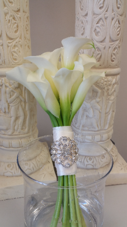 Calla Lily Bridal Bouquet In Helena Al The Petal Cart