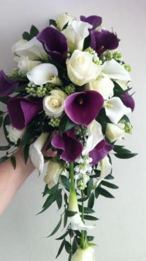 Calla lily Cascade Bouquet Cascade
