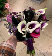 Calla lily obsession  wedding bouquet