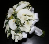 CALLA LILY  Wedding Bridal Bouquet