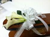 Calla Prom corsage Prom flowers