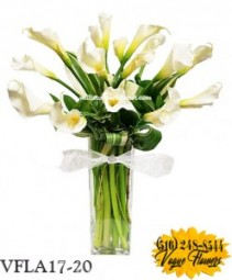 Calla Supreme Floral Arrangement