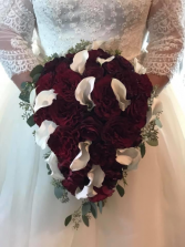 Callas and Roses Wedding Bouquet