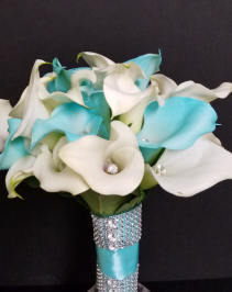 Callas in Tiffany Bridal Bouquets