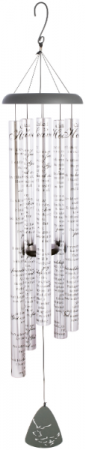 """Called to Heaven Wind Chime Large 55"""" Carson Chimes"""