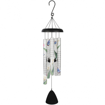 "Called You Home 36"" Picture Wind Chime Powell Florist Exclusive"