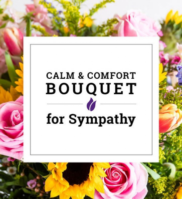 Calm and Comfort  Artisan's Choice Bouquet