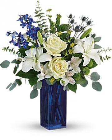 Calming Cobalt Bouquet