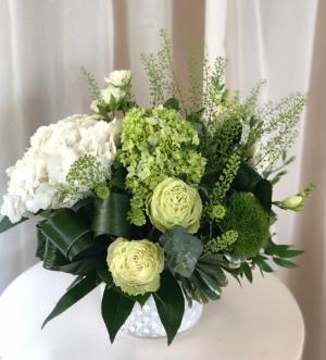 Soothing Garden  Ceramic Vase Arrangement  in Woodbridge, ON | PRIMAVERA FLOWERS & MORE