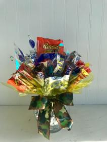 Camo Candy Bouquet