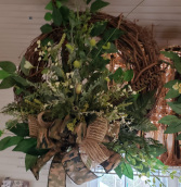 Camo Wreath remembrance gift