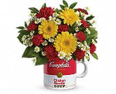 Campbell's Get Well Mug  in Cloquet, MN | SKUTEVIKS FLORAL
