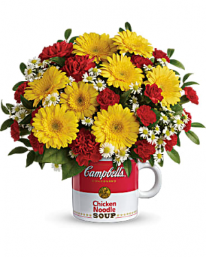 Campbell's® Healthy Wishes Bouquet by Teleflora  in Lauderhill, FL | BLOSSOM STREET FLORIST