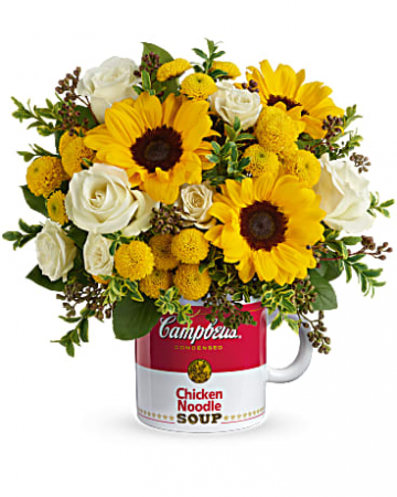 Campbell's Warm Wishes Bouquet Get Well