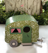 Camper birdhouse gift item